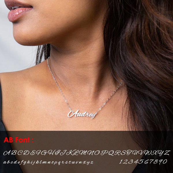 Customized Gold Name Necklace