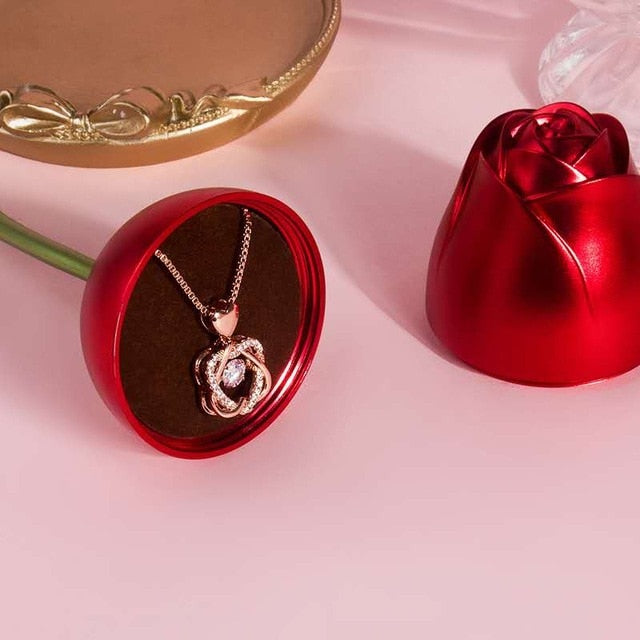 Love Heart Necklace (Gift)