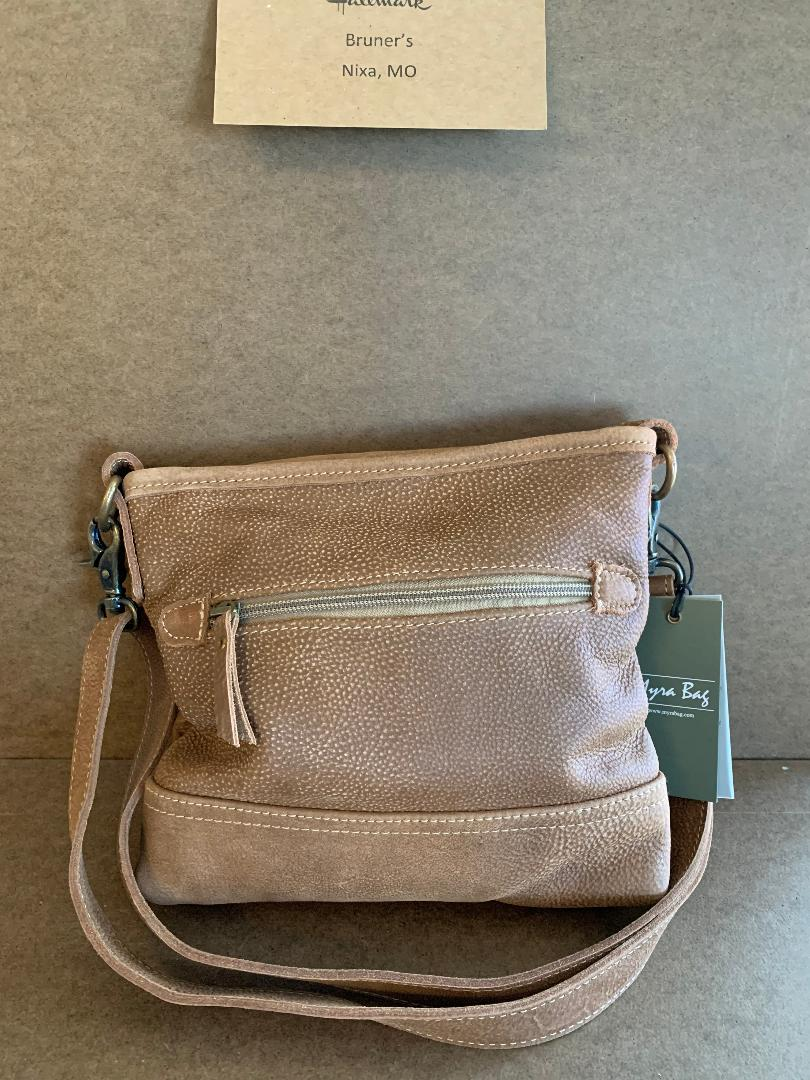 D-Ring leather crossbody