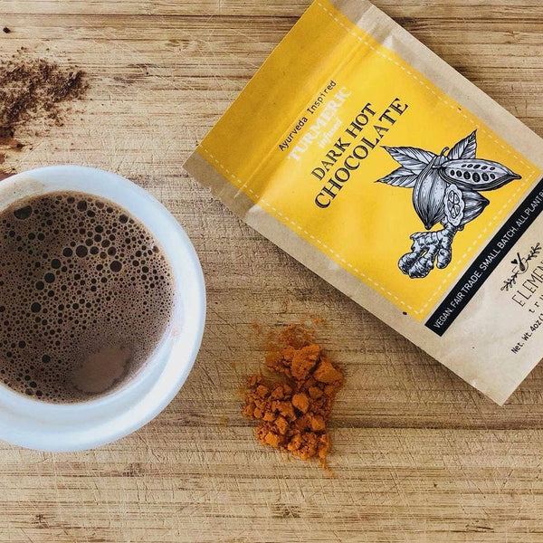 Turmeric Infused VEGAN Drinking Hot Chocolate (4oz)