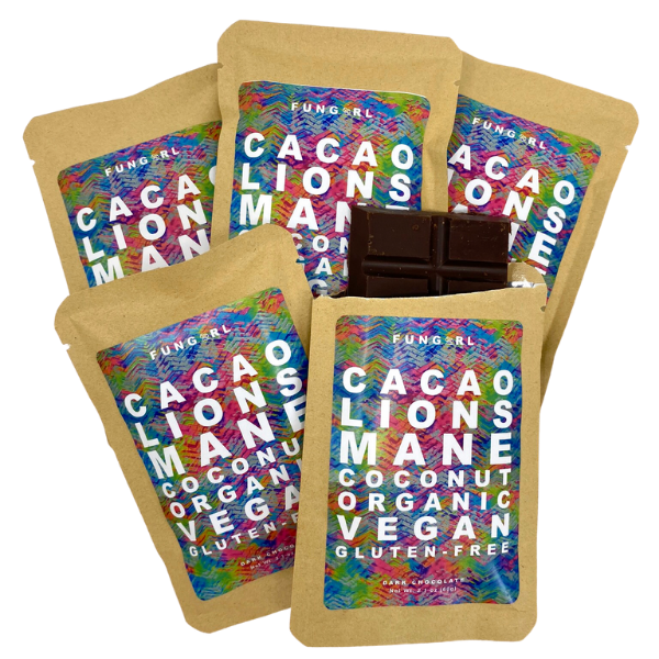 FunGirlGoods - Lions Mane Chocolate Bar