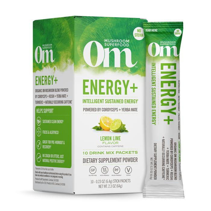 OM - COLD DRINK MIXES - 10 STICK TRAVEL - ENERGY+, BEAUTY+, IMMUNITY+,