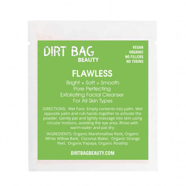 Dirt Bag Beauty - Vegan Flawless Exfoliator - Single Use - Dirt Queen SF
