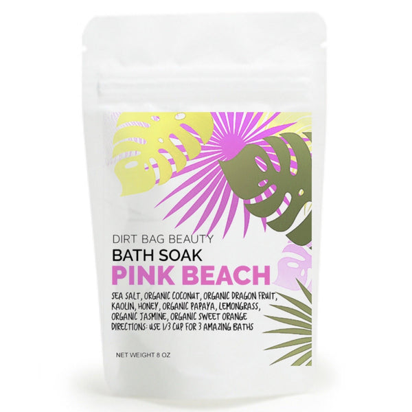Dirt Bag Beauty - Pink Beach Bath Soak - Dirt Queen SF