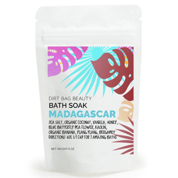 Dirt Bag Beauty - Madagascar Bath Soak 8 oz - Dirt Queen SF
