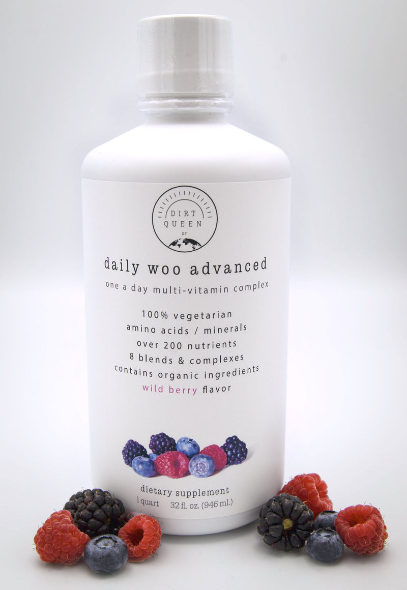 Daily Woo Advanced - Multi-Vitamin - Dirt Queen SF