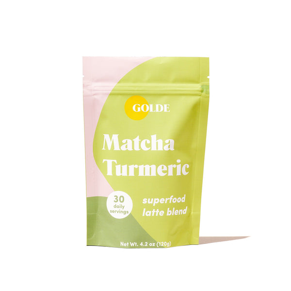 golde - matcha turmeric latte blend - Dirt Queen SF