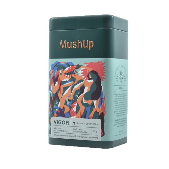 MushUp - Physical Well Being Coffee - Vigor - Reishi and Cordyceps infused coffee