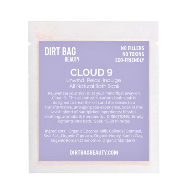 NEW- Cloud 9 Bath Soak Single use