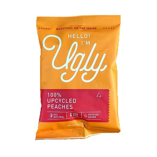 The Ugly Company - Dried Peaches 4 oz