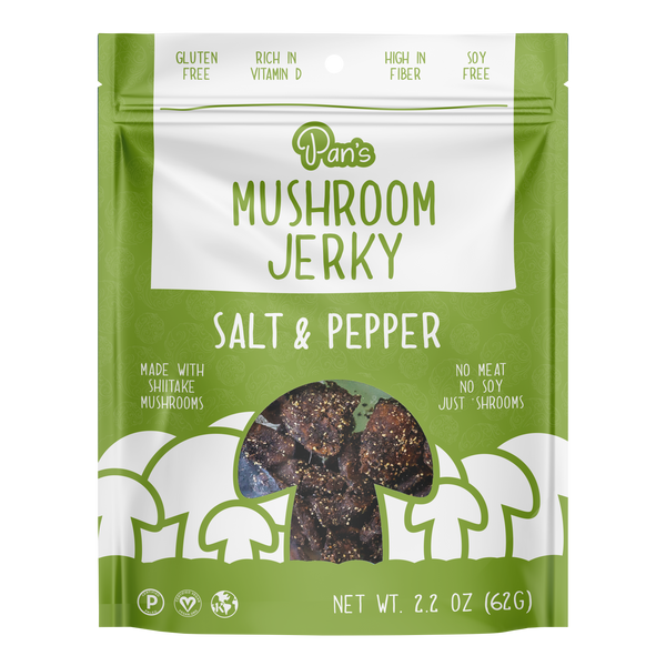 Pan's - Mushroom Jerky - Salt and pepper