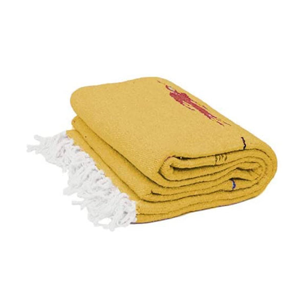 Yellow Baja Thunderbird Blanket - West Path