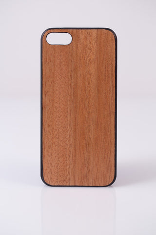 RUBBER WOOD iPHONE CASE
