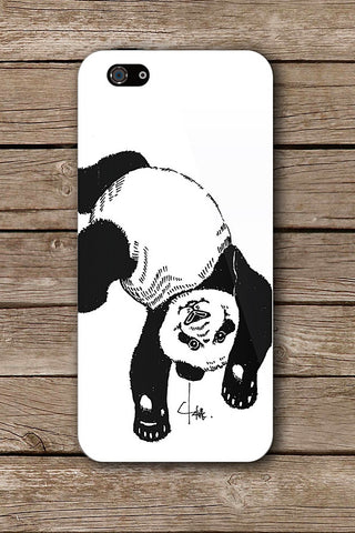 HAPPY PANDA iPHONE ART BY CRYSTAL
