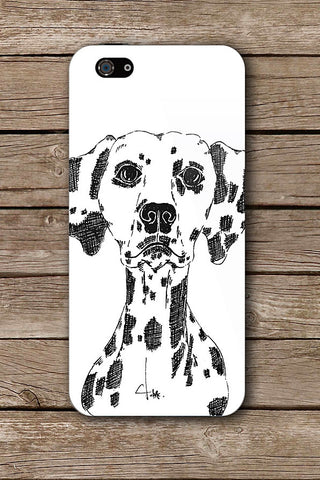 DALMATION iPHONE ART BY CRYSTAL