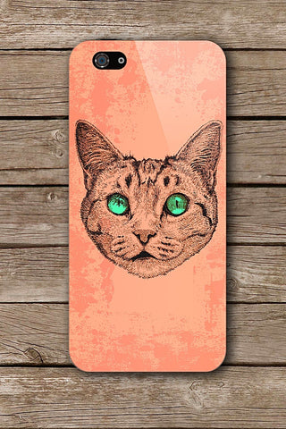 NEON EYED CAT iPHONE ART BY GUANDO