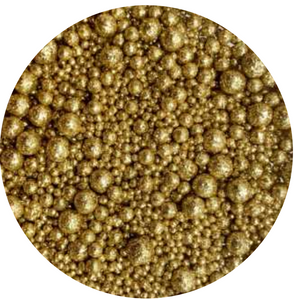 Insumos - Sprinkle Solid Gold Deluxe 100 grs.