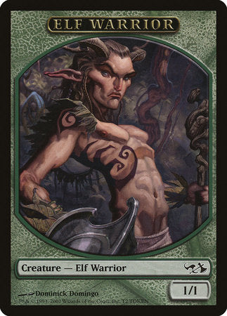 Elf Warrior Token [Duel Decks: Elves vs. Goblins Tokens] | OMG Games ON