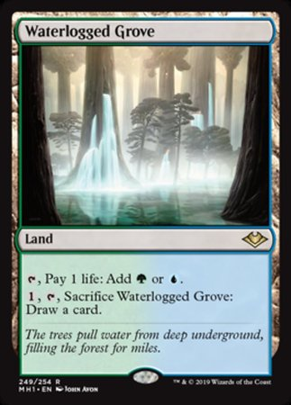 Waterlogged Grove [Modern Horizons] | OMG Games ON