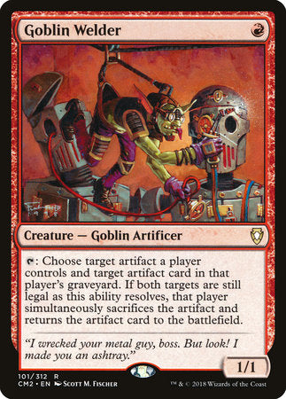 Goblin Welder [Commander Anthology Volume II] | OMG Games ON