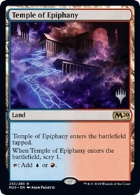 Temple of Epiphany [Promo Pack: Core Set 2020] | OMG Games ON