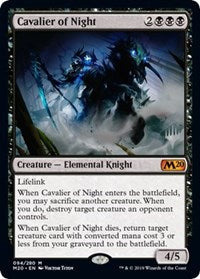 Cavalier of Night [Promo Pack: Core Set 2020] | OMG Games ON