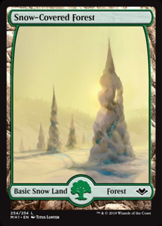 Snow-Covered Forest [Modern Horizons] | OMG Games ON