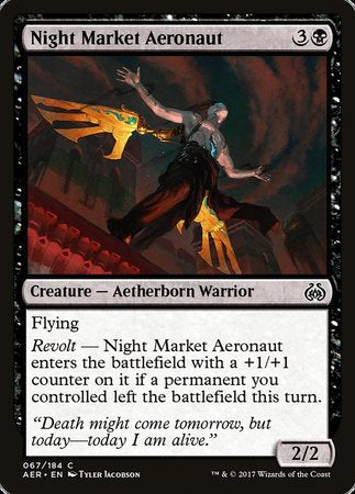 Night Market Aeronaut [Aether Revolt] | OMG Games ON
