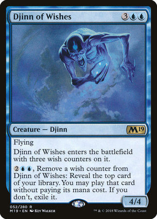Djinn of Wishes [Core Set 2019] | OMG Games ON