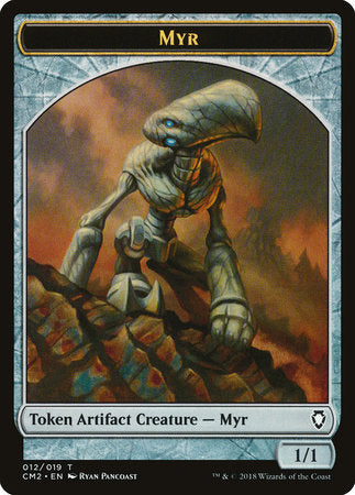 Myr Token [Commander Anthology Volume II Tokens] | OMG Games ON