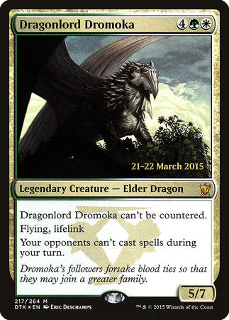 Dragonlord Dromoka [Dragons of Tarkir Promos] | OMG Games ON