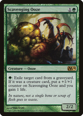 Scavenging Ooze [Duels of the Planeswalkers Promos 2013] | OMG Games ON