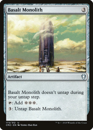 Basalt Monolith [Commander Anthology Volume II] | OMG Games ON