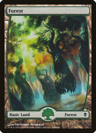 Forest (248) - Full Art [Zendikar] | OMG Games ON