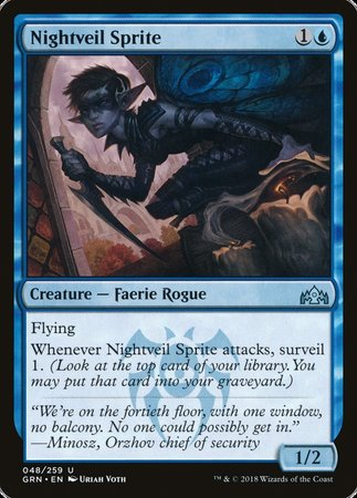 Nightveil Sprite [Guilds of Ravnica] | OMG Games ON