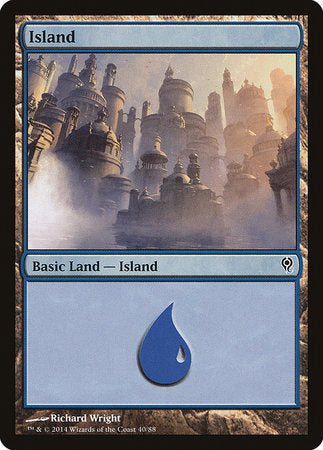 Island (40) [Duel Decks: Jace vs. Vraska] | OMG Games ON