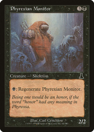 Phyrexian Monitor [Urza's Destiny] | OMG Games ON