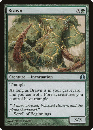 Brawn [Commander 2011]