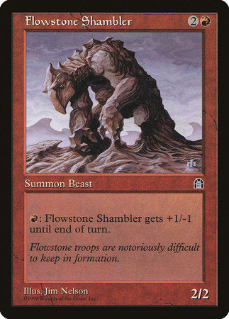 Flowstone Shambler [Stronghold]