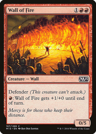 Wall of Fire [Magic 2015]