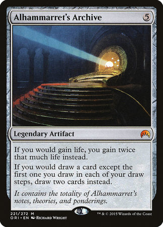 Alhammarret's Archive [Magic Origins]