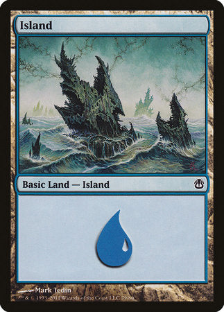 Island (79) [Duel Decks: Ajani vs. Nicol Bolas]