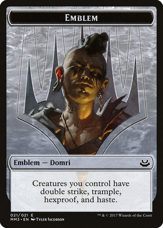 Emblem - Domri Rade [Modern Masters 2017 Tokens] | OMG Games ON