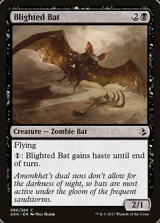 Blighted Bat [Amonkhet] | OMG Games ON