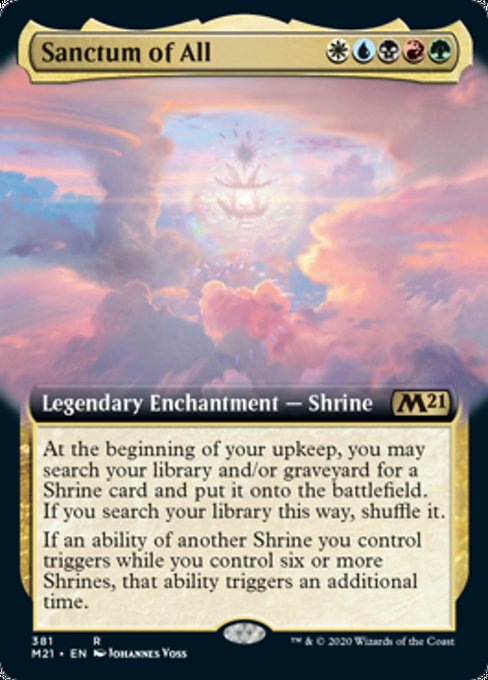 Sanctum of All (Extended Art) [Core Set 2021] | OMG Games ON