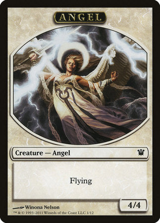 Angel Token [Innistrad Tokens] | OMG Games ON