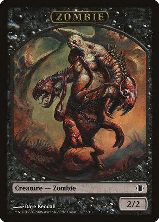 Zombie Token [Shards of Alara Tokens] | OMG Games ON