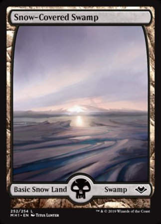 Snow-Covered Swamp [Modern Horizons] | OMG Games ON