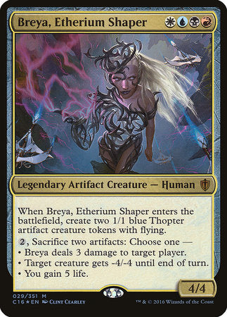 Breya, Etherium Shaper (Commander 2016) [Commander 2016 Oversized] | OMG Games ON