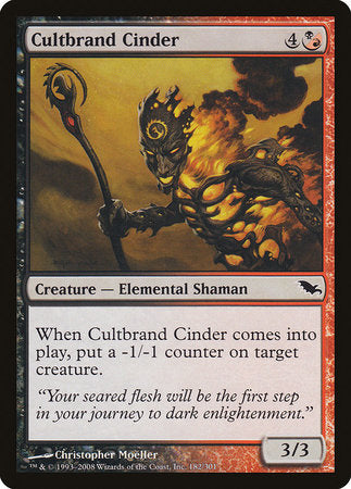 Cultbrand Cinder [Shadowmoor] | OMG Games ON